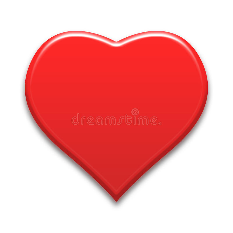 Heart background. Red color tone with vector illustration