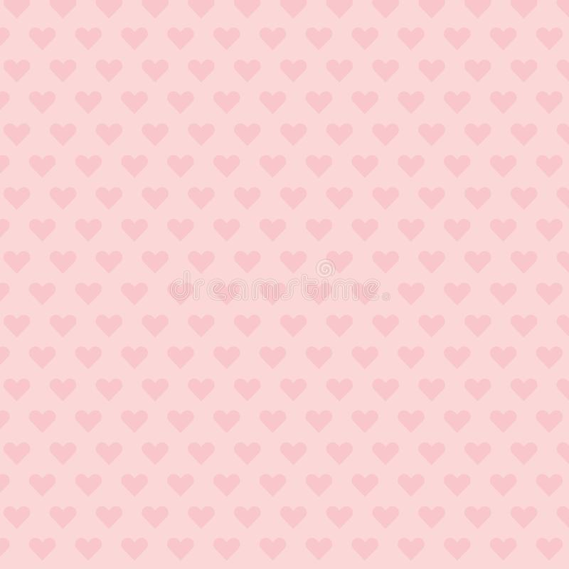 Heart background wallpaper stock illustration