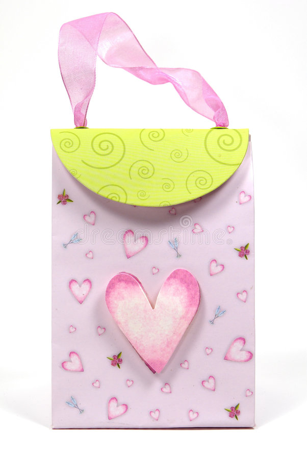 Heart Bag stock images
