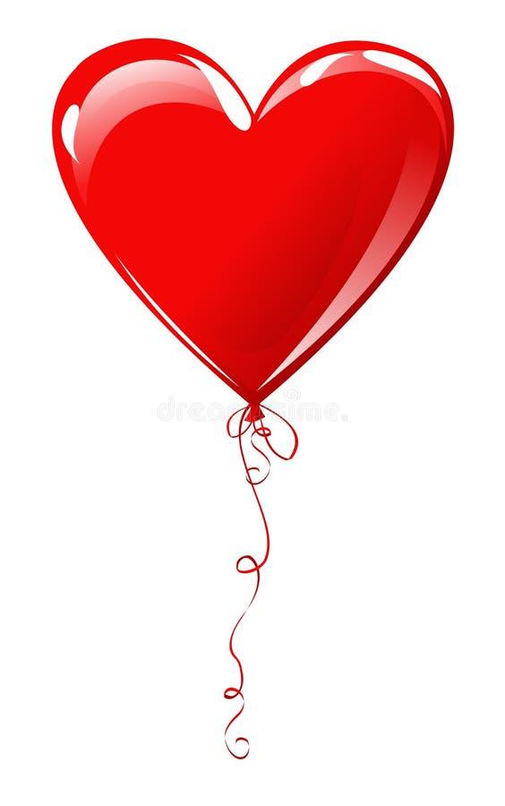 Heart Balloon Royalty Free Stock Photos