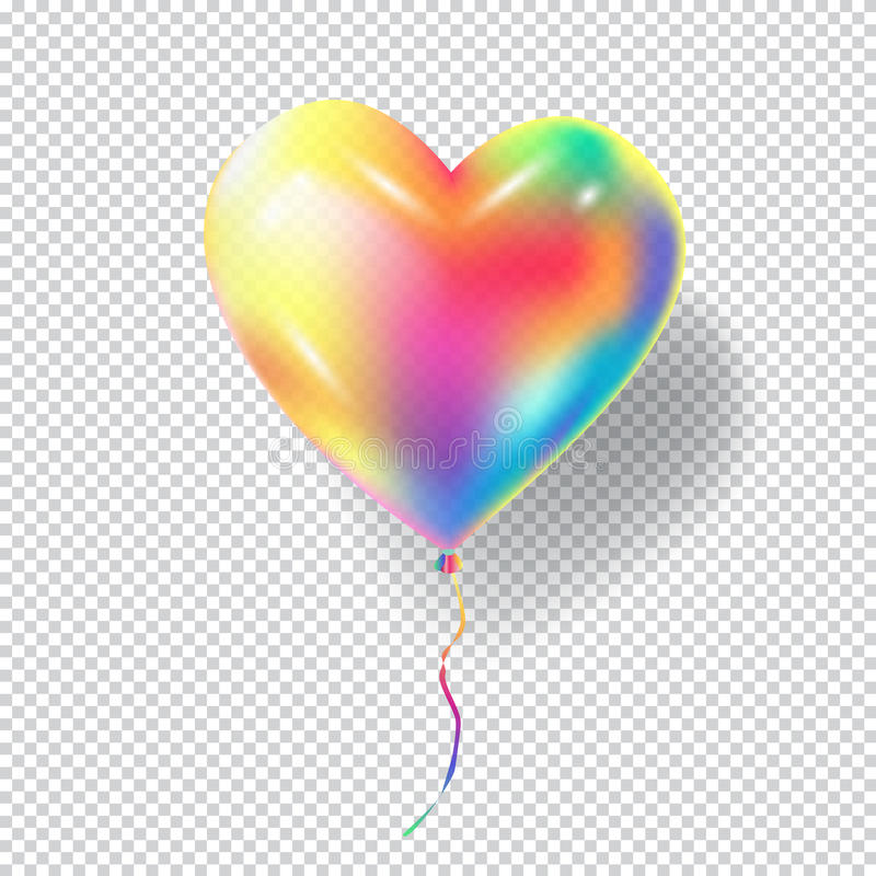 Download Heart Balloon stock vector. Illustration of carnival - 86763153