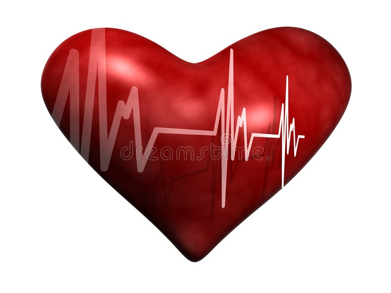 Heart Beat stock photo