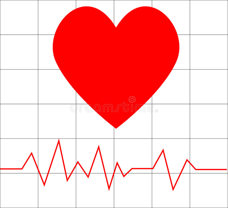 Download Heart beat stock vector. Image of happy, card, holiday - 8094459