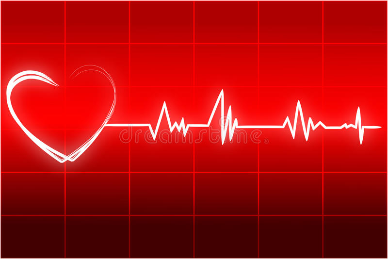 Download Heart beats stock vector. Illustration of checked, diagnosis - 17557941