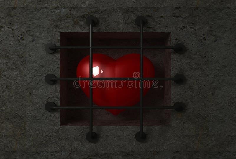 картинки сердце за решеткой хочу чтоб подумали