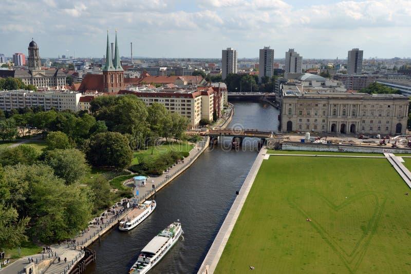 Download Heart of Berlin view stock image. Image of love, bridge - 21774569
