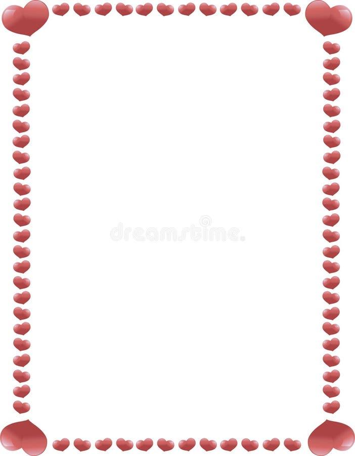 Free Heart Border 1 Royalty Free Stock Photo - 12321165