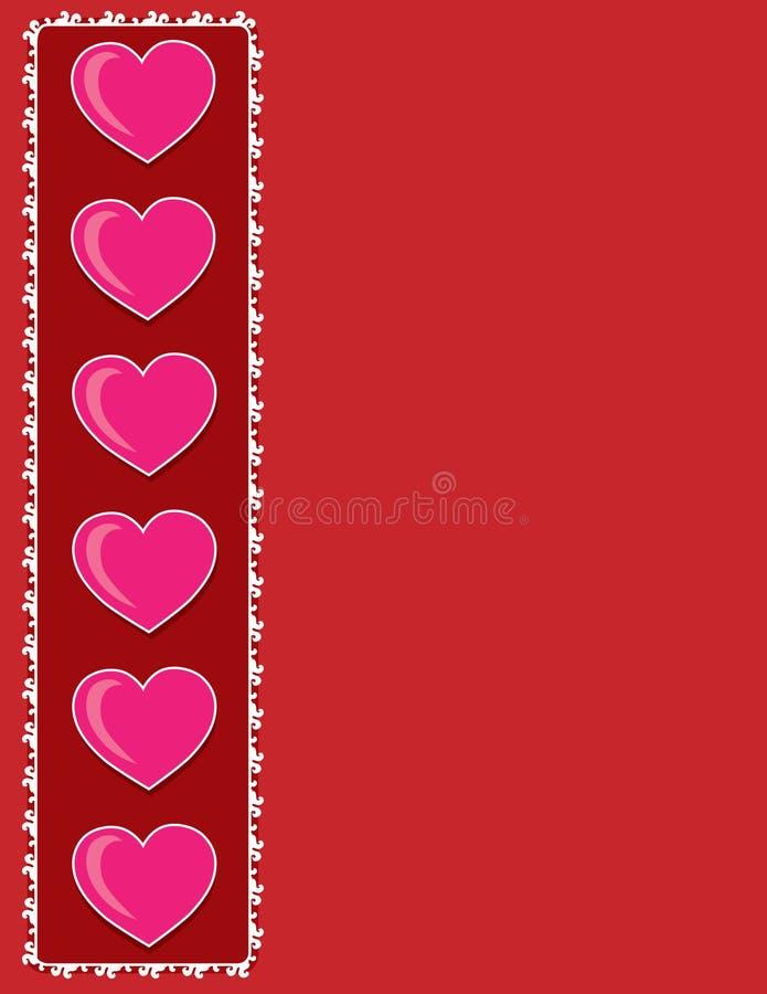 Download Heart Border stock vector. Image of valentine, background - 12973424