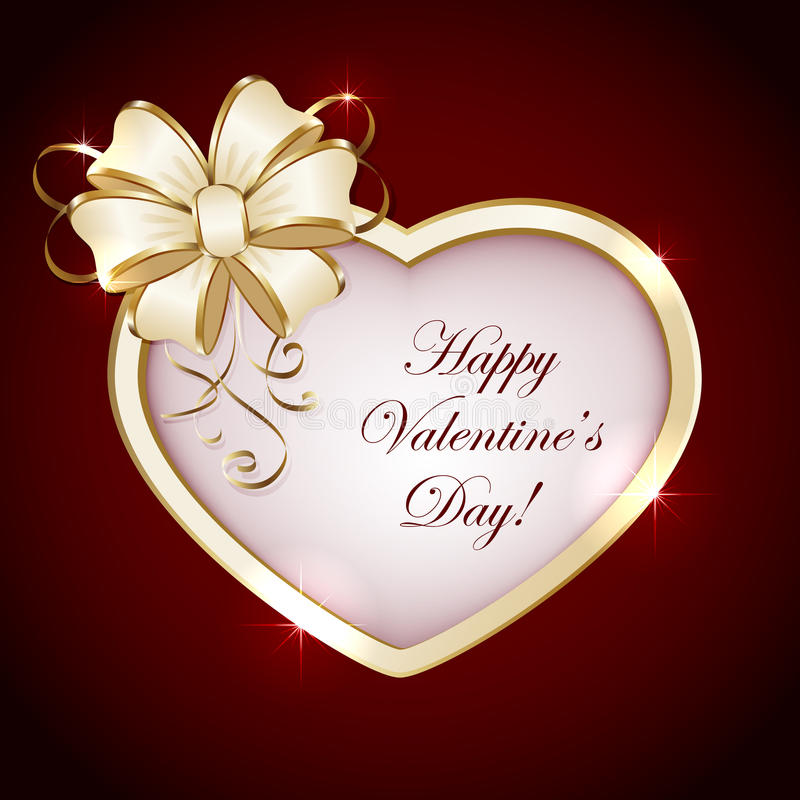Download Heart With Bow Royalty Free Stock Photo - Image: 28291765