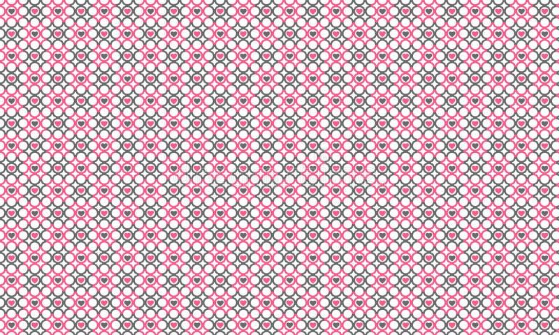 Heart box pattern stock photos
