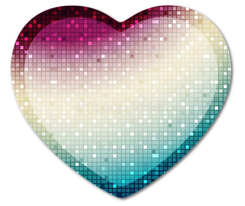 Heart1 brillante illustrazione di stock