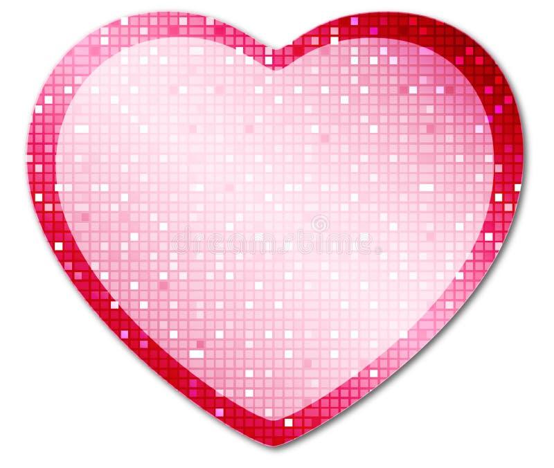 Heart4 brillante illustrazione di stock
