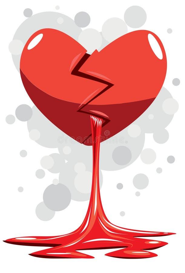 Download Heart Broken stock illustration. Illustration of heart - 11490643