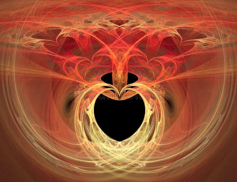 Heart Burn Stock Photo