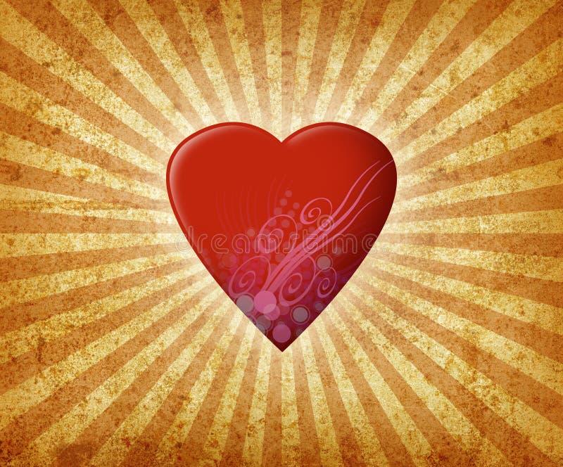 Heart Burst stock photo