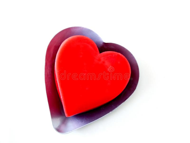 Heart Candle Free Stock Photo