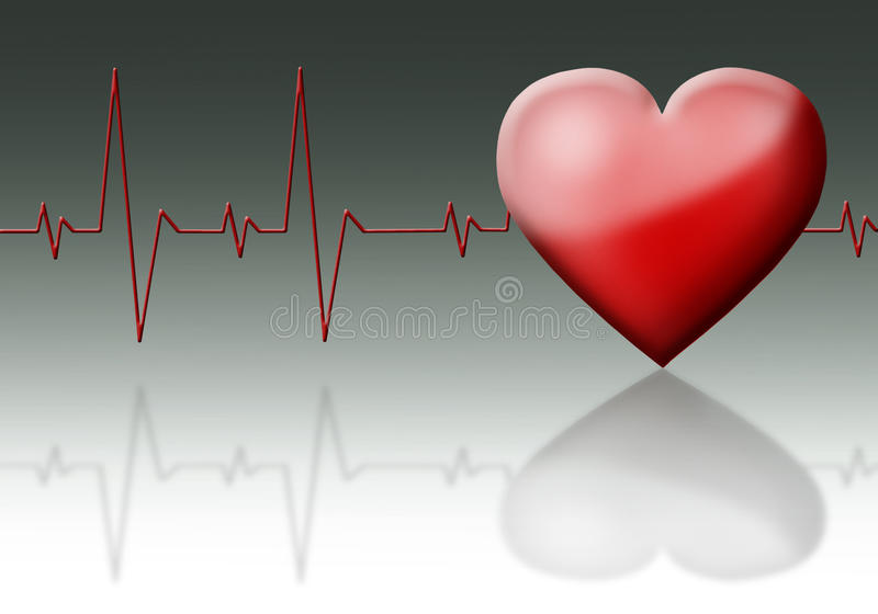 Download Heart cardiogram. stock illustration. Image of patient - 20700607