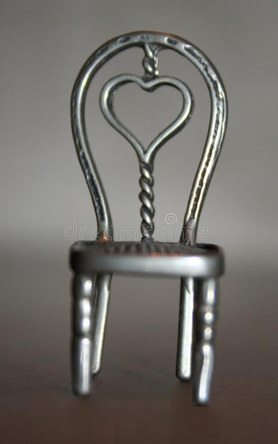 Download Heart Chair Aluminium stock image. Image of chair, heart - 4055391