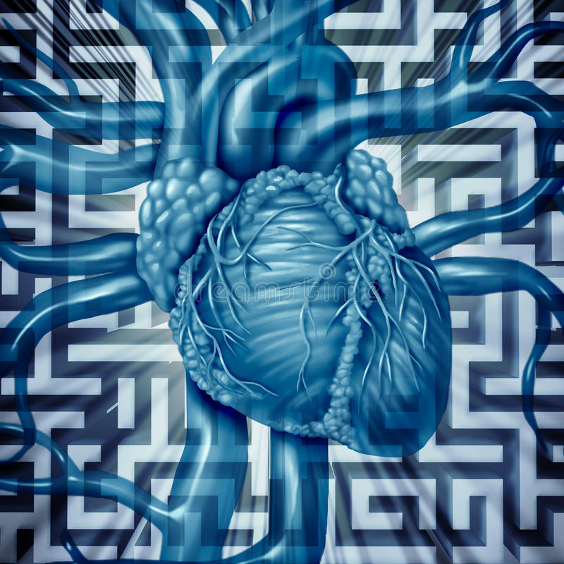 Heart Challenge stock illustration
