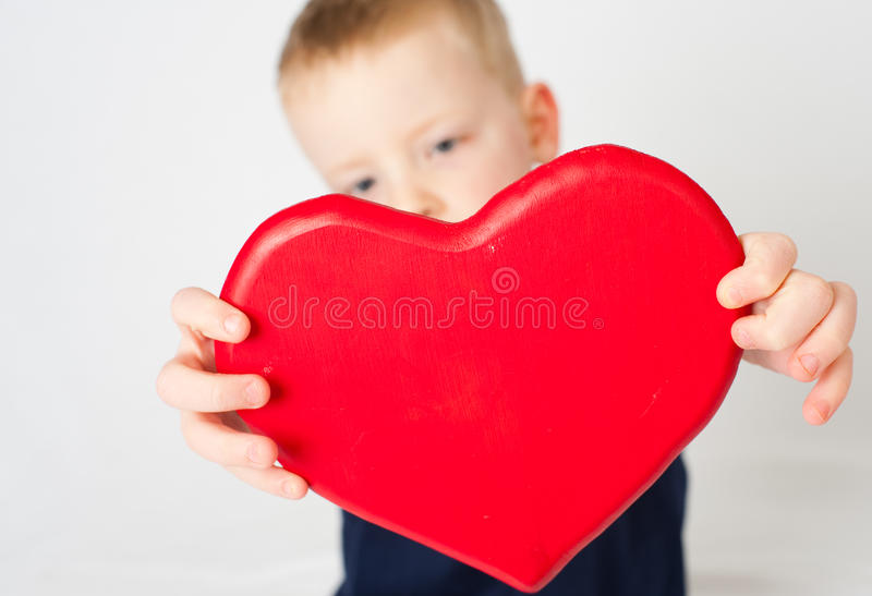 Download Heart of a Child stock photo. Image of young, cute, romance - 17046080