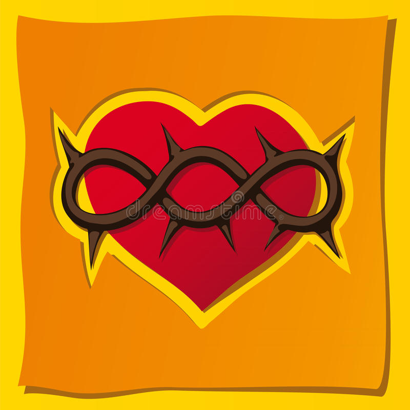 Download Heart, A Christian Symbol Stock Photo - Image: 17143910