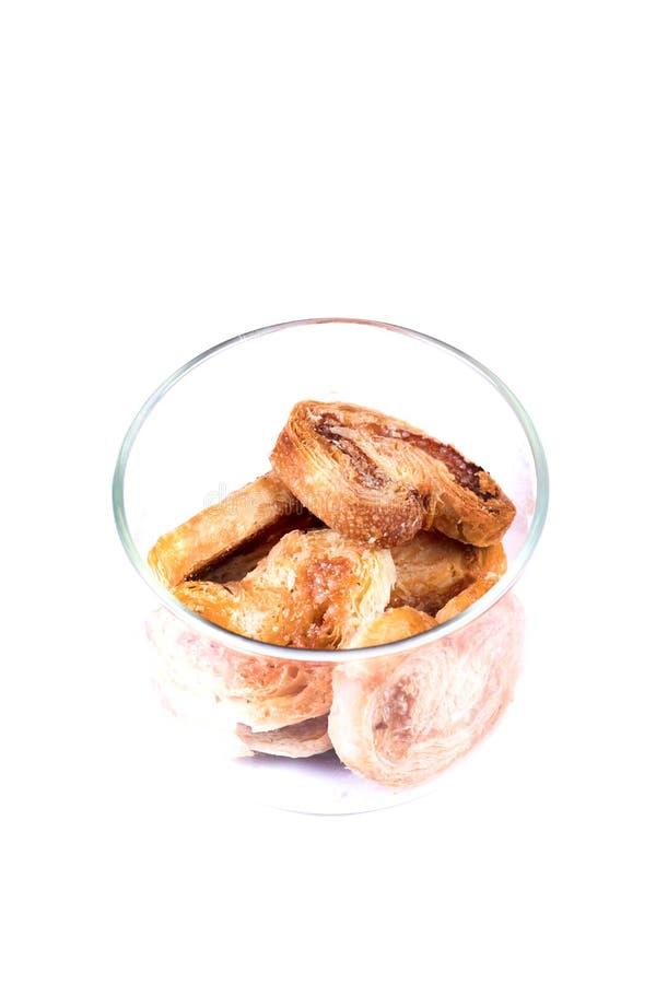 Heart cookies stock image