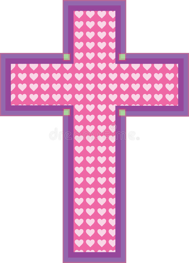 Download Heart Cross Royalty Free Stock Photography - Image: 24015967