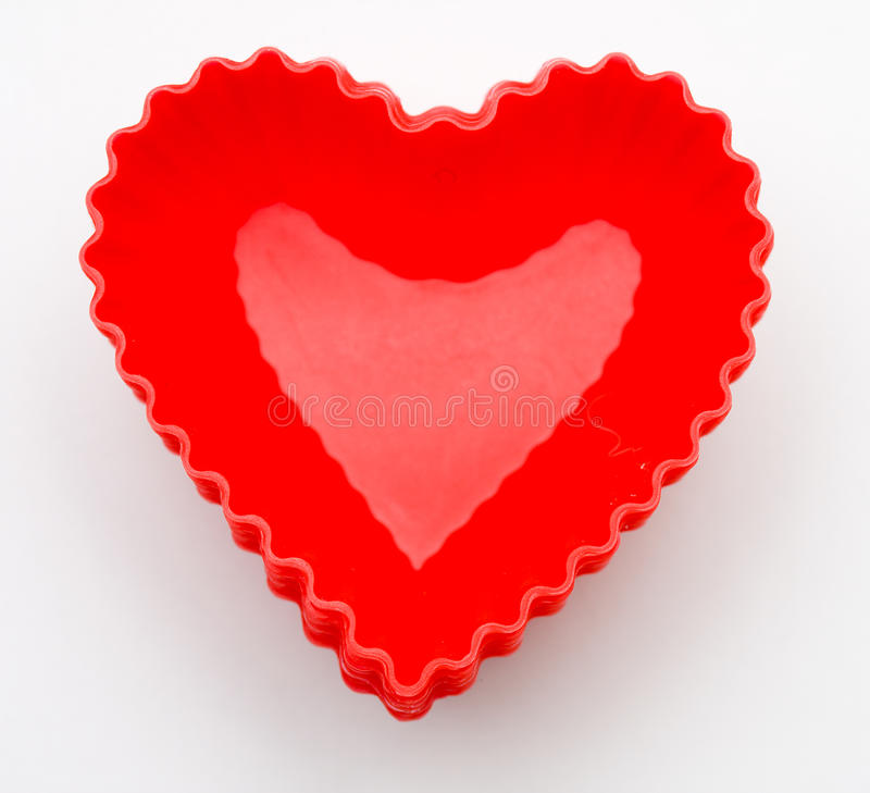 Download Heart Cupcake Liners Stock Image - Image: 12293261