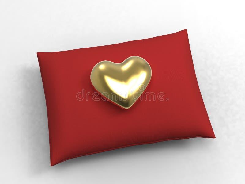 Heart and Cushion