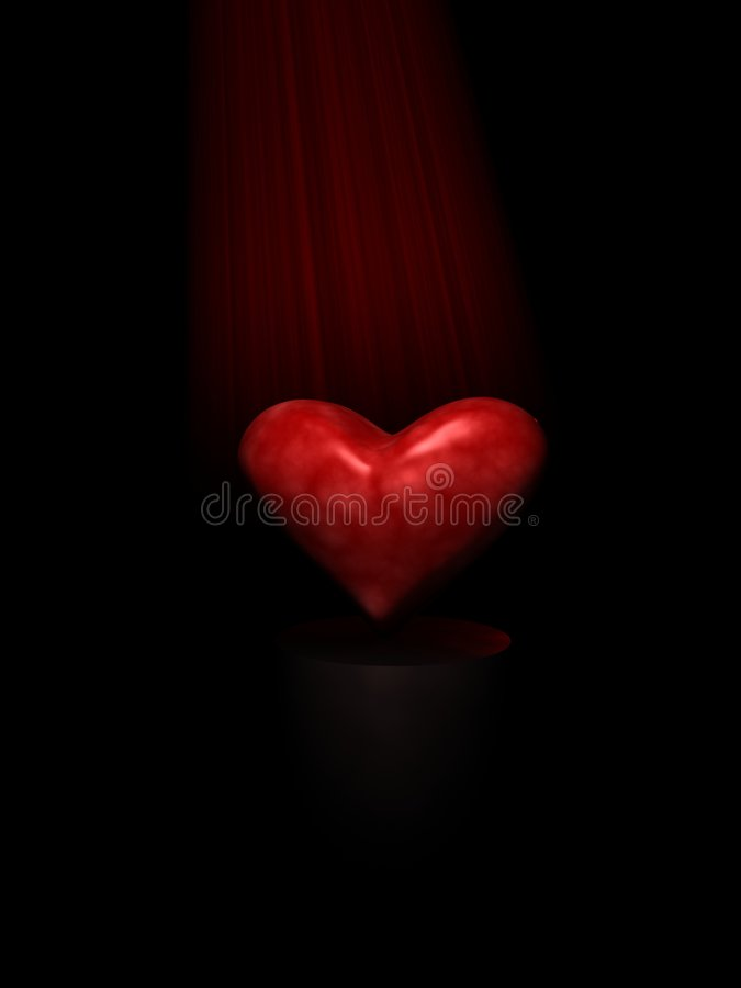 Heart Of Darkness royalty free stock photos