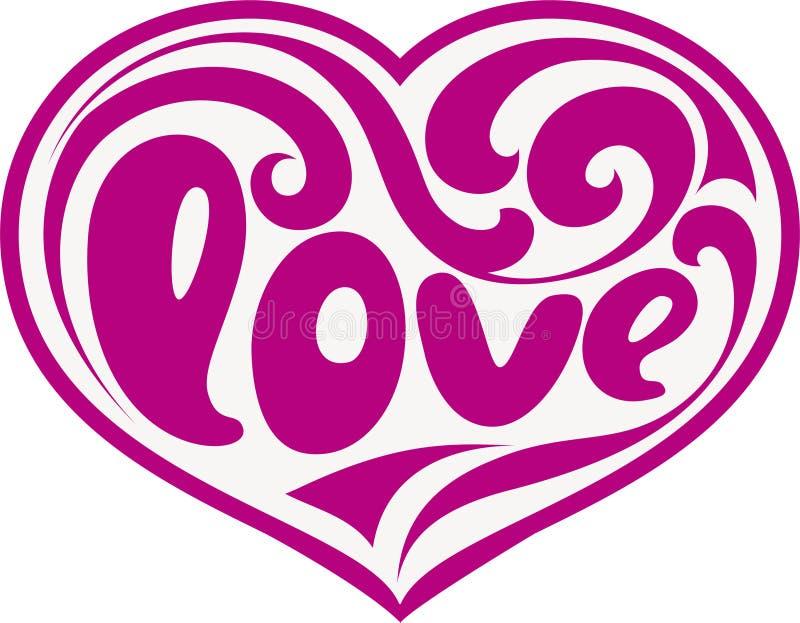 Heart decorative stock illustration