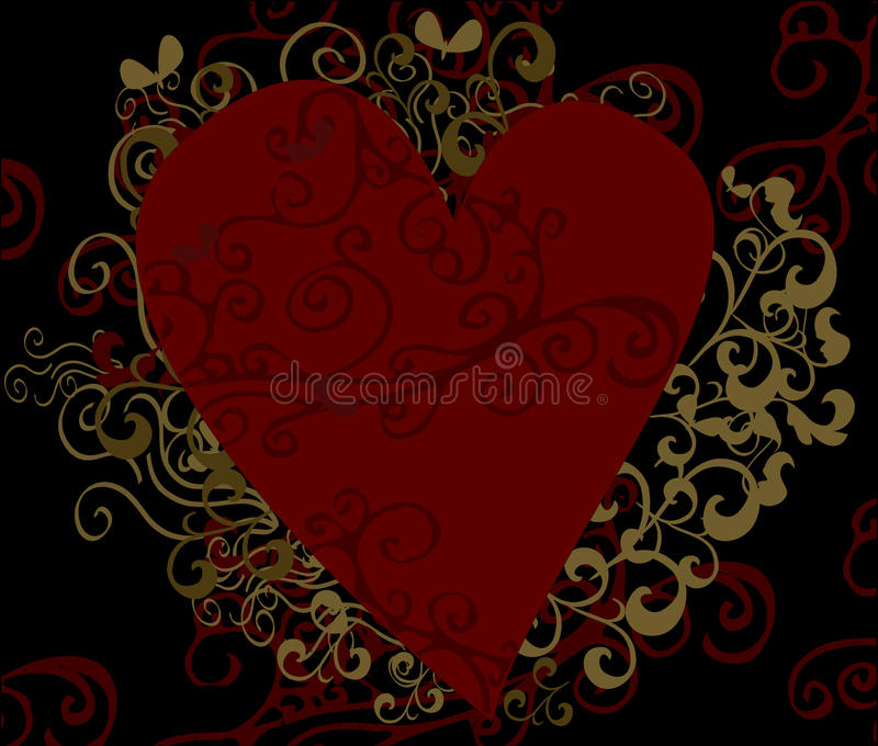 Download Heart Design Background Royalty Free Stock Photos - Image: 27912638