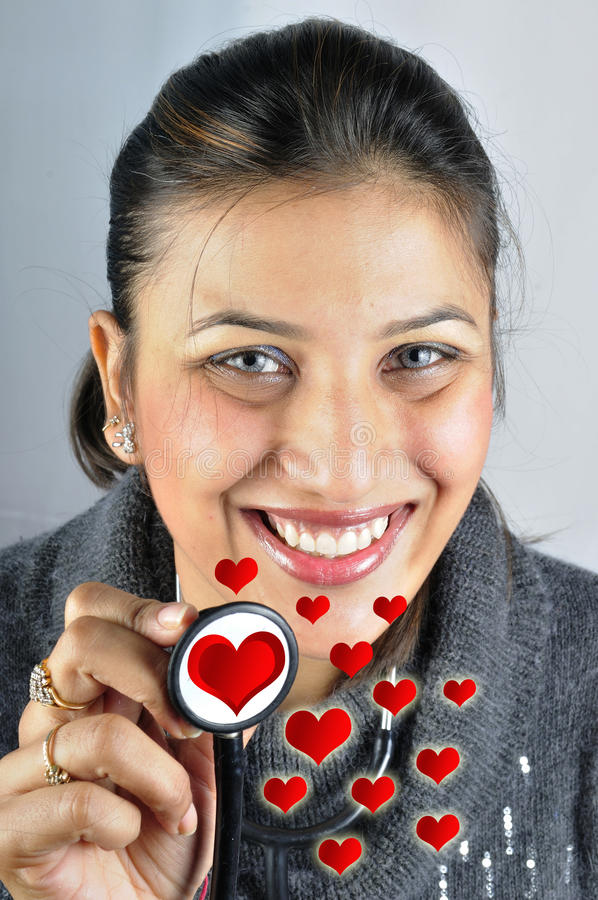 Heart doctor stock photography