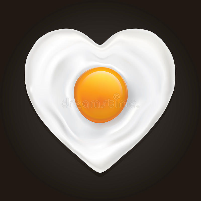 Download The Heart Of The Egg Stock Image - Image: 27111781