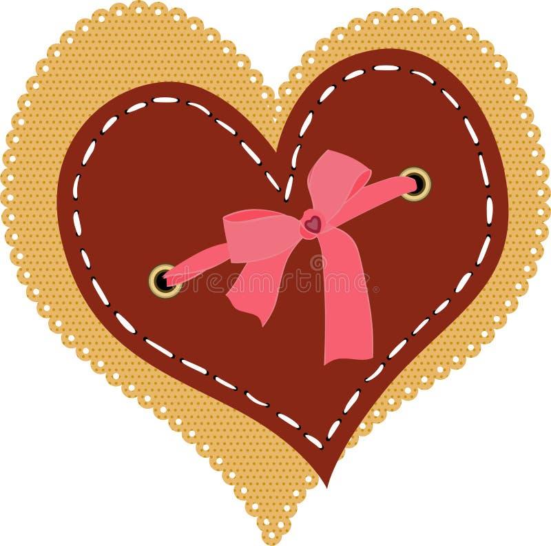 Download Heart Embellished Scrapbook Stock Vector - Image: 27548063
