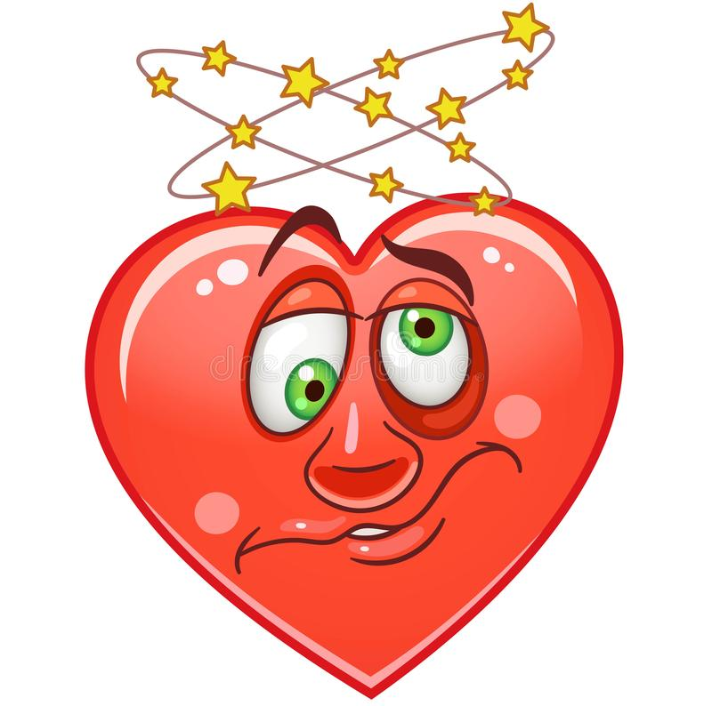 Heart Emoticons Smiley Emoji stock images