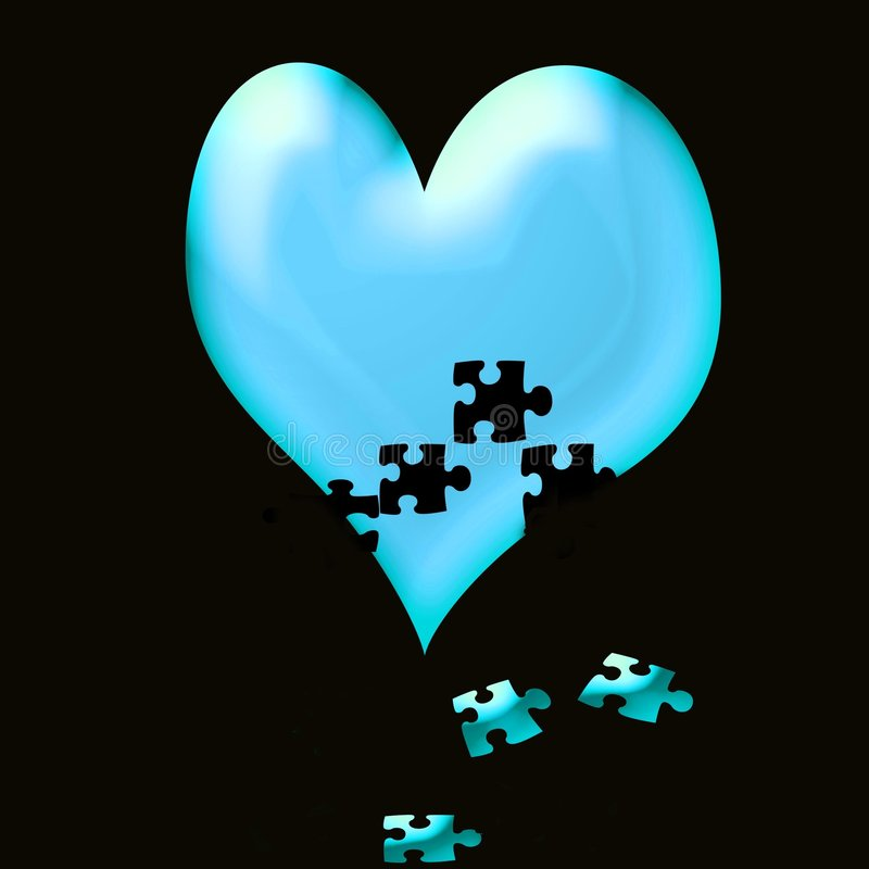 Heart fall to pieces