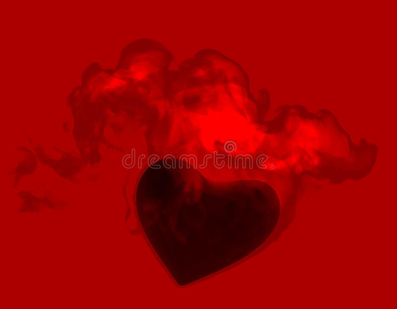 Download Heart In Flame Royalty Free Stock Photo - Image: 18802895