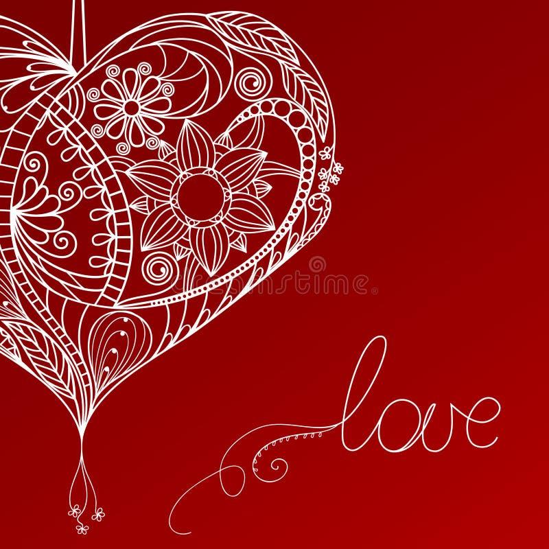 Heart Floral Design Stock Photos