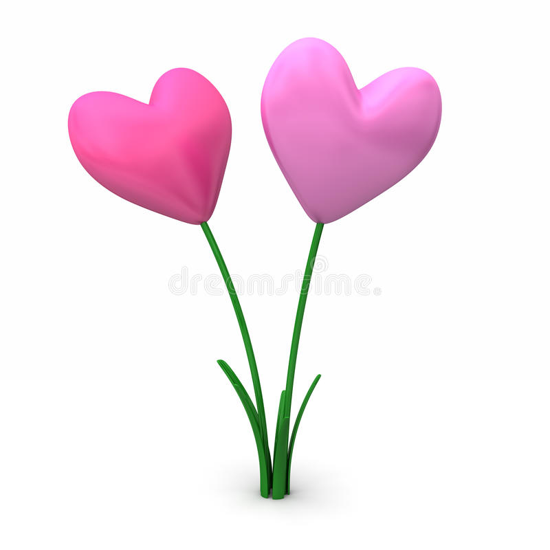 Download Heart Flowers Stock Photography - Image: 18188552