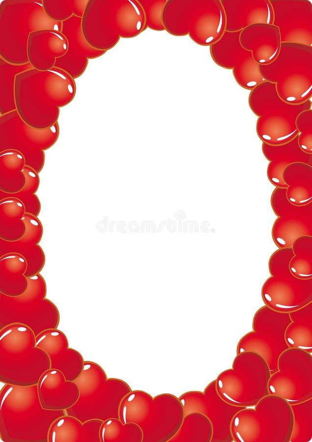 Heart Frame royalty free stock photos