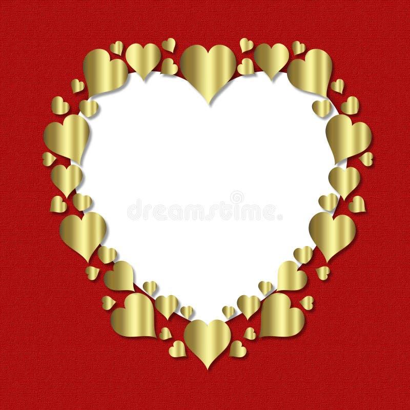 Heart Frame stock photography