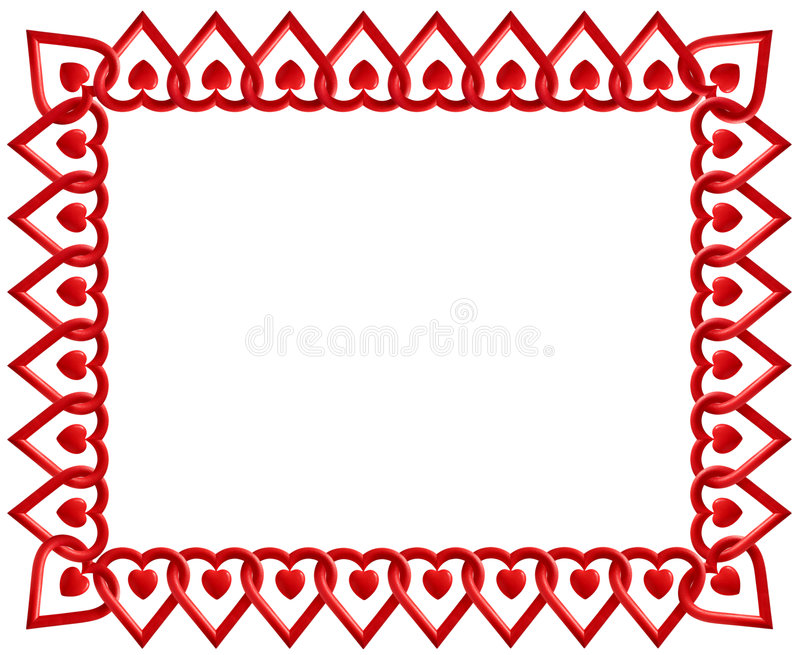 Download Heart Frame stock photo. Image of ornament, love, array - 6616674