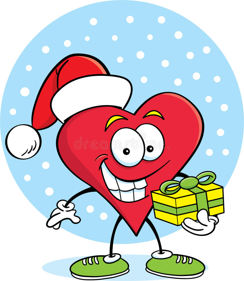 Heart with a gift