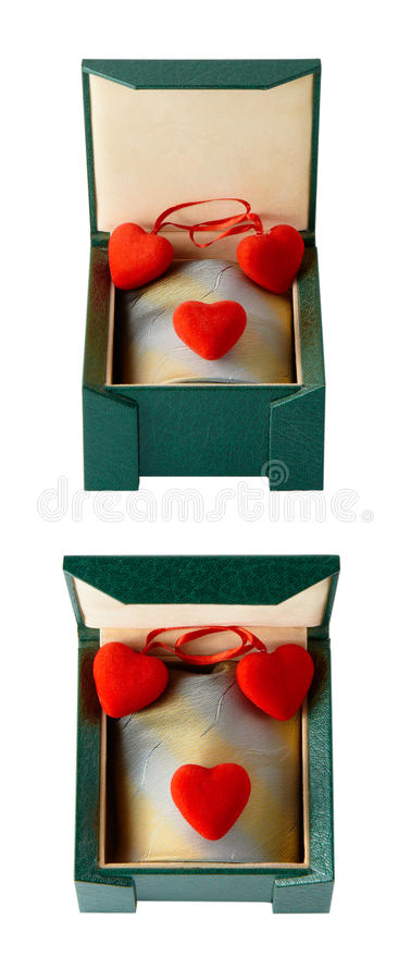 Download Heart In A Gift Box Stock Photo - Image: 28829680