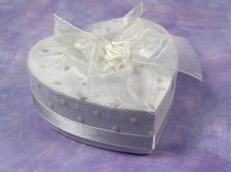 Heart Giftbox royalty free stock photo