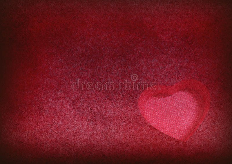 Heart on grungy background