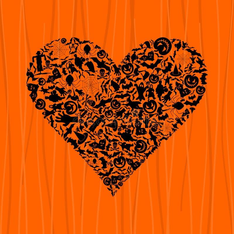 Heart Halloween Royalty Free Stock Photo