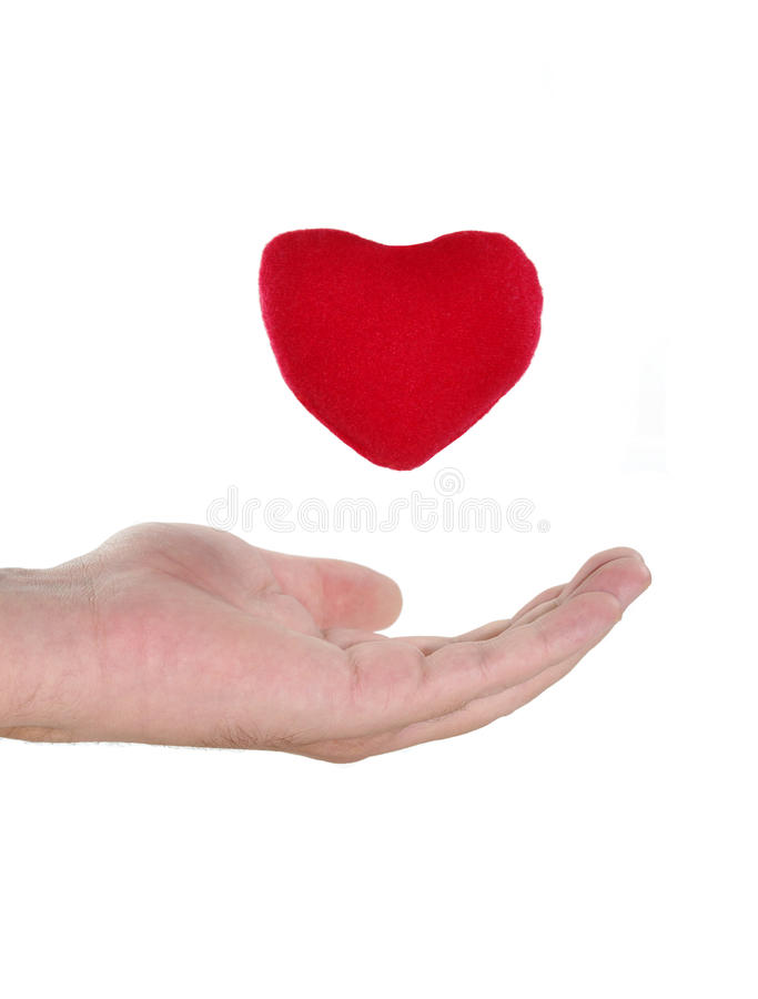 Download Heart And Hand Royalty Free Stock Photography - Image: 13459897