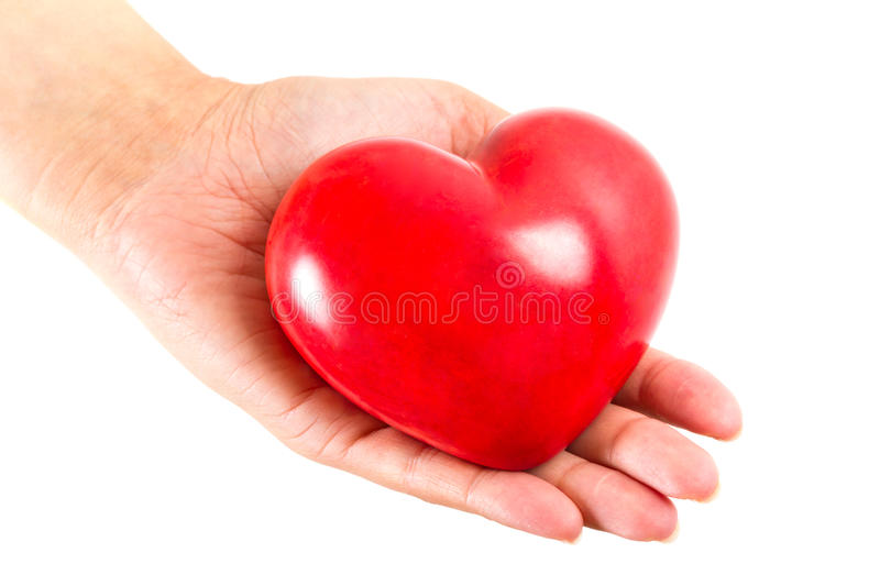 Download Heart In Hand As Love Symbol Stock Image - Image: 29096551